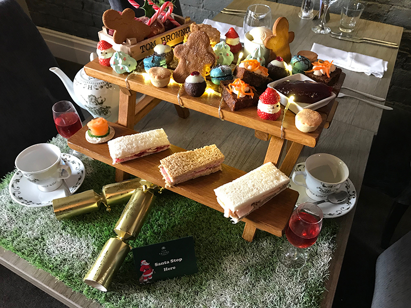 Afternoon Tea with a festive twist